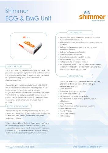 Shimmer ECG & EMG Unit