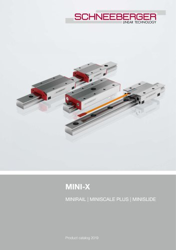 MINI-X Product catalog