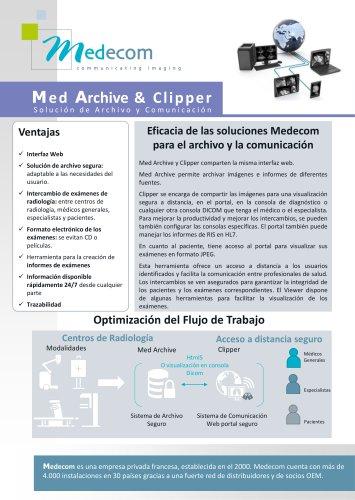 Med Archive & Clipper - Software de Archiving y Comunicación