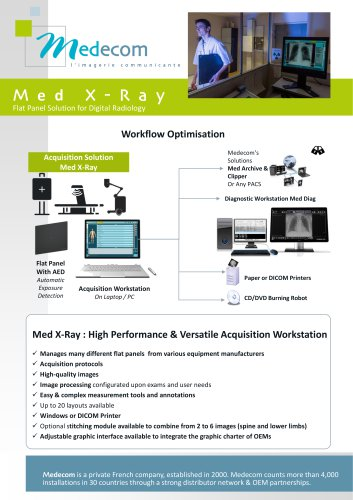 Med XRay - Acquisition Workstation