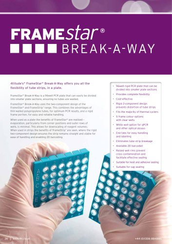 FrameStar® Break-A-Way