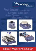 Catalog Stirrer, Mixer and Shaker