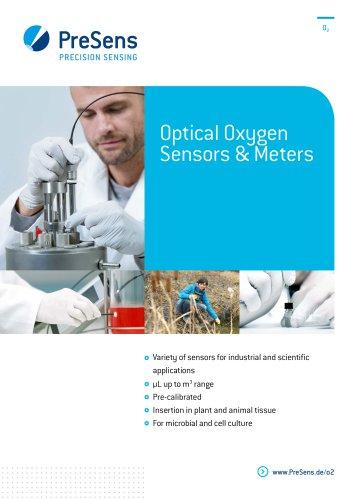 Optical Oxygen Sensors & Meters