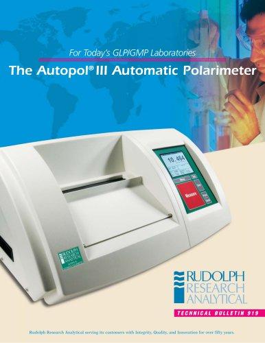 The Autopol® III