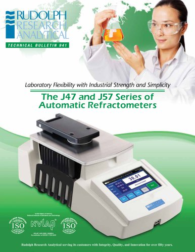 The J47 and J57 Series of  Automatic Refractometers