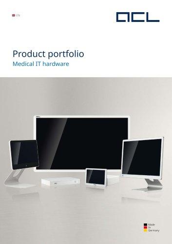 Product portfolio - Medical IT hardware