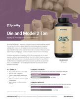 Die and Model 2 Tan