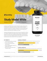 Study Model White