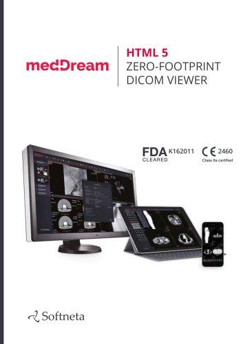 MEDDREAM HTML5 ZERO-FOOTPRINT DICOM VIEWER
