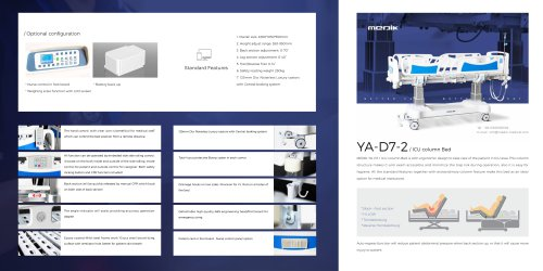 YA-D7-2 Medical ICU Bed