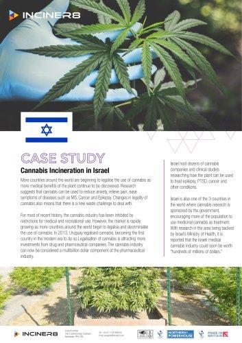 Cannabis Incinerators in Israel