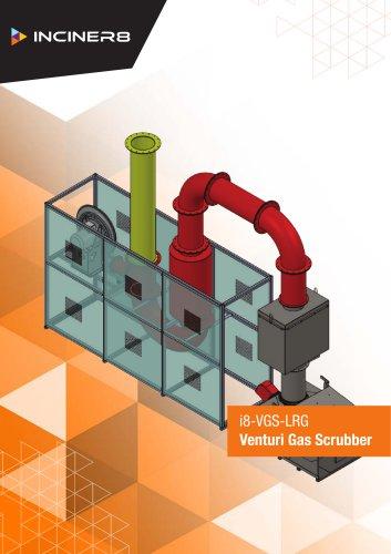 Large Venturi Gas Scrubber