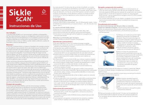 Sickle SCAN