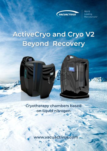 Catalog of cryotherapy chambers