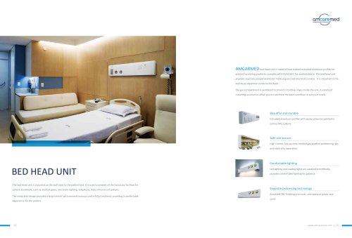 AmcareMed Bed Head Unit