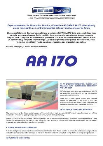 SAFAS AA170
