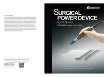 Surgical Power Device for Spinal Surgery DK-O-MVS