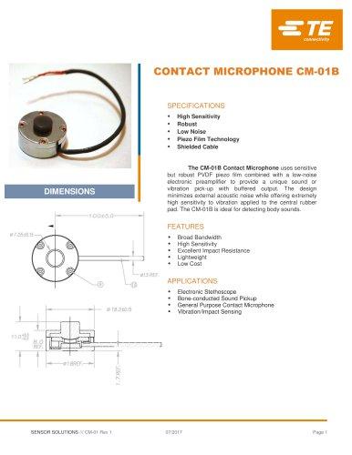 CONTACT MICROPHONE CM-01B