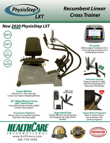 New 2020 PhysioStep LXT