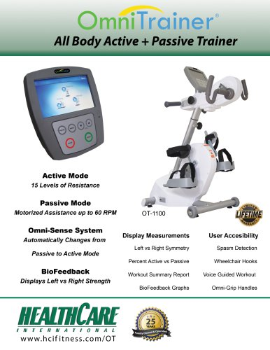 OmniTrainer8 Ail Body Active + Passive Trainer