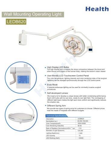 Catalog-LEDB620-Wall Mount Surgical Light