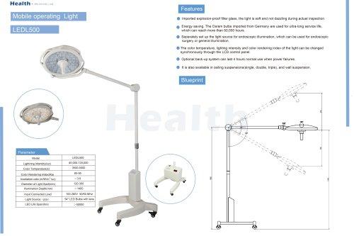 Catalog-LEDL500-Mobile Operating Light