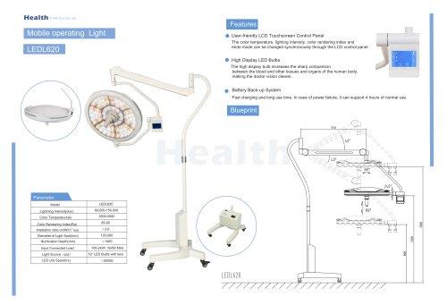 Catalog-LEDL620-Mobile Operating Light