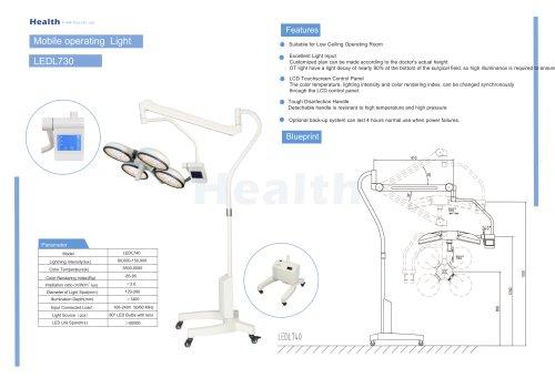 Catalog-LEDL740-Mobile Operating Light