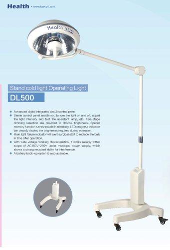 Health-Halogen Operating Light-DL500-Hospital
