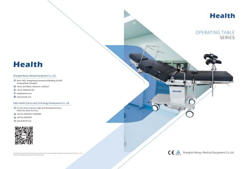 Health-Operating Table-Hydraulic & Electric Series-Hospital