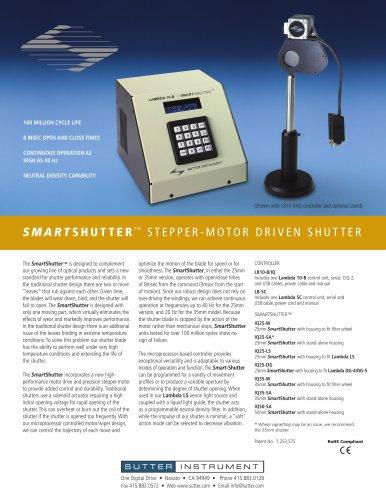 Smarts Hutter Stepper-Motor driven shutter
