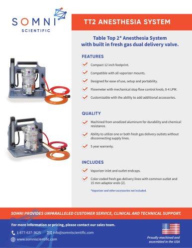 TT2 ANESTHESIA SYSTEM