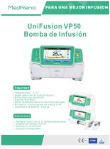 UniFusion VP50 Bomba de infusion