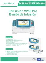 UniFusion VP50 Pro Bomba de infusion