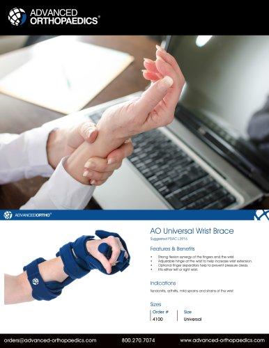 AO Universal Wrist Brace