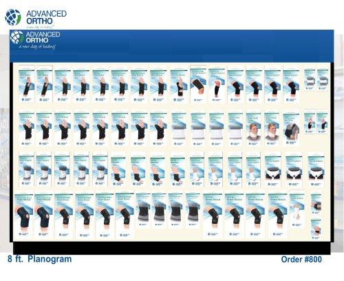 Planogram Order #800