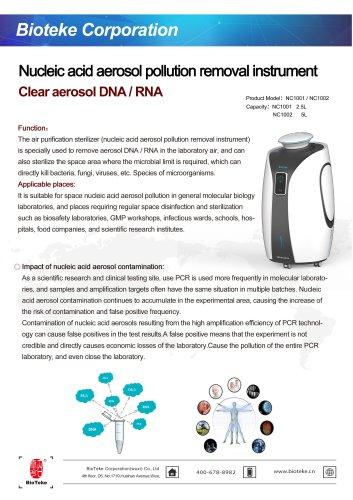 Bioteke/Disinfection system/NC1001
