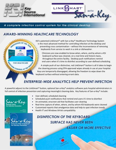 San-a-Key Cleaning and Analytics Software