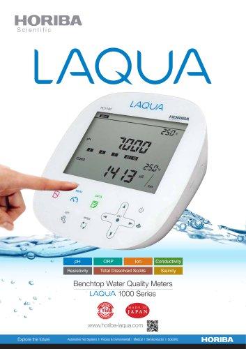 Benchtop Water Quality Meters  1000 Series