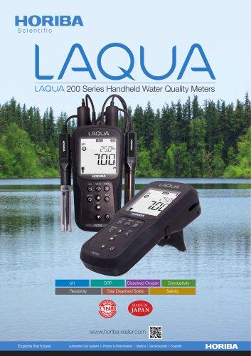 LAQUA 200 Series Handheld Water Quality Meters
