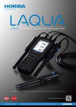LAQUA WQ-300 Series Smart Handheld Water Quality Meters