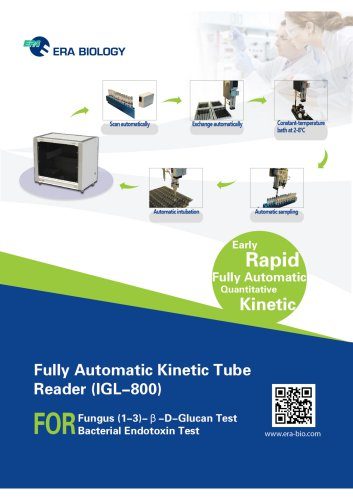 Era Biology Full-Automatic Kinetic Tube Reader IGL-800