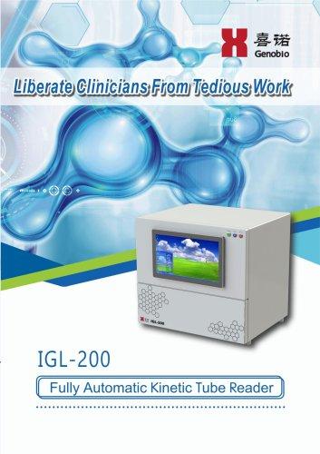 Genobio Full-Automatic Kinetic Tube Reader IGL-200