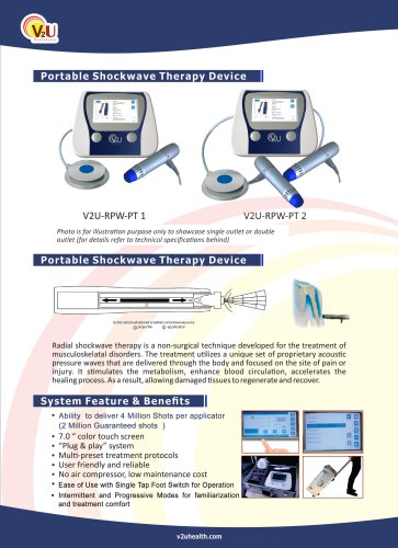 Portable Shockwave Therapy device