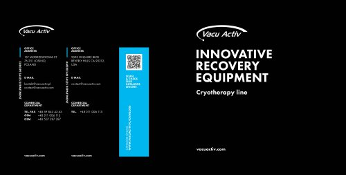 Cryotherapy devices