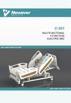 Intensive care bed Newever C-501