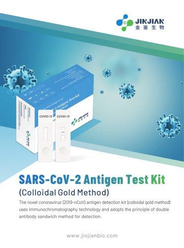 SARS CoV-2 Antigen test kit documents