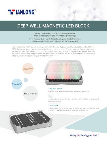 Tianlong's deep well magnetic led base