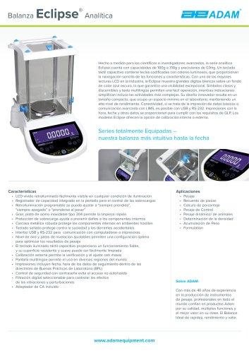Balanza Eclipse®  Analítica