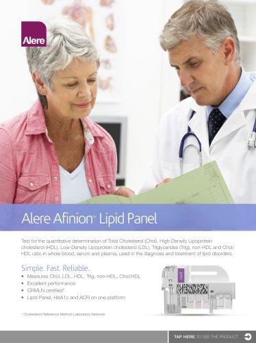 Alere Afinion Lipid Panel